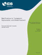 Best Practices for Transparent, Reproducible, and Ethical Research Thumbnail