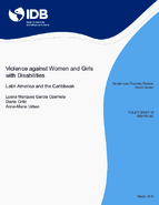Violence against Women and Girls with Disabilities: Latin America and the Caribbean Thumbnail