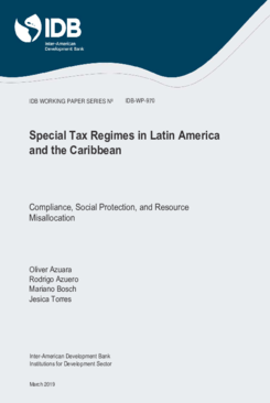 Special Tax Regimes in Latin America and the Caribbean: Compliance, Social Protection, and Resource Misallocation Thumbnail