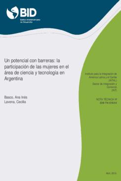 Un potencial con barreras: La participación de las mujeres en el área de Ciencia y Tecnología en Argentina thumbnail